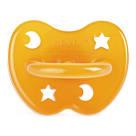 HEVEA Anatomiczny smoczek kauczukowy, 0-3 m, gwiazdy/księżyc 1szt