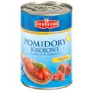 PODRAVKA Pomidory krojone w soku pomidorowym 400g