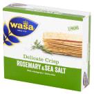 WASA Delicate Thin Crisp Pieczywo chrupkie z rozmarynem i solą morską 190g