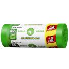 JAN NIEZBĘDNY Worki do segregacji śmieci 60l 16 szt - zielone 1szt
