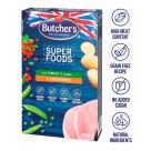 BUTCHER S Superfoods Treats Przysmaki dla psa z indykiem i żurawiną 320g
