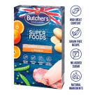 BUTCHER S Superfoods Treats Przysmaki dla psa z kaczką i pomarańczą 320g