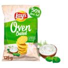 LAYS Oven Baked Chipsy Jogurt z ziołami ogrodowymi 125g
