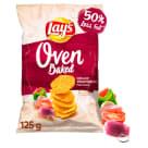 LAYS Oven Baked Chipsy ziemniaczane o smaku grillowanych warzyw 125g