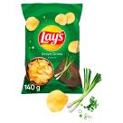 LAYS Chipsy Zielona Cebulka 140g