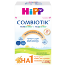 HIPP HA 1 Combiotik Hipoalergiczne mleko początkowe dla niemowląt, od urodzenia 600g