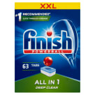 FINISH All in 1 Tabletki do zmywarek Regular 63 szt 1 szt