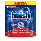 FINISH All in 1 MAX Tabletki do zmywania Lemon cytrynowe  76 szt 1szt