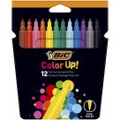 BIC Color Up Flamastry Pudełko 12szt 1szt