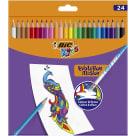BIC Kids Evolution Illusion Kredki ołówkowe Pudełko 24szt 1szt