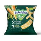 BOBOVITA Chrupeczki kukurydziane - delikatnie marchewkowe po 7 miesiącu BIO 20g