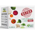 SMART GREEN Detox box zestaw soków (8x300 ml) 2.4l