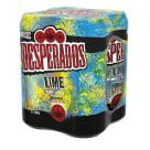 DESPERADOS Lime Piwo w puszce 4x500ml 2l