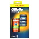 GILLETTE Fusion5 ProGlide Ostrza wymienne do maszynki 4 szt. + żel do golenia 75 ml 1szt