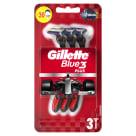 GILLETTE Blue3 Nitro Jednorazowa maszynka do golenia dla mężczyzn 3 szt. 1szt