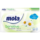 MOLA SENSITIVE Papier toaletowy Rumianek + Wit. E 8 rolek 1szt