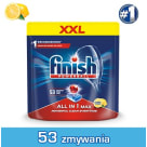FINISH All in 1 MAX Tabletki do zmywarki Lemon cytrynowe  53 szt 1 szt