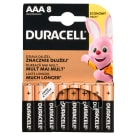 DURACELL AAA/LR 03 Baterie Alkaliczne 8 szt. 1szt