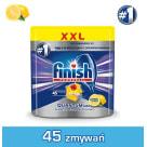 FINISH POWERBALL Quantum MAX Kapsułki do zmywarki Lemon cytrynowe 45 szt 1szt