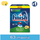 FINISH All in 1 Tabletki do zmywarek Lemon cytrynowe 63 szt 1 szt