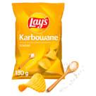 LAYS Chipsy ziemniaczane karbowane Solone 130g