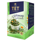 TET HARMONY GREEN TEA SENCHA & LEMON PEEL 40 g