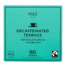 MARKS & SPENCER Herbata ekspresowa bezkofeinowa (80 torebek) 200g