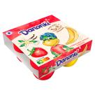 DANONE Danonki MEGA Serek o smaku truskawkowo-bananowym 4sztx90g 360g