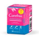 CAREFREE Flexi Comfort Wkładki higieniczne z uczuciem bawełny 20 szt. 1szt