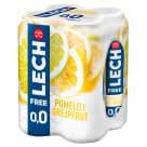 LECH Free Piwo bezalkoholowe Pomelo i Grejpfrut (puszka) 4x500ml 2l