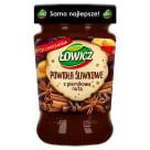 ŁOWICZ Powidła ze śliwek węgierek z piernikową nutą 290g