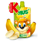 KUBUŚ Mus 100% banan jabłko 100g