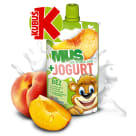 KUBUŚ Mus + Jogurt jabłko brzoskwinia banan 80g