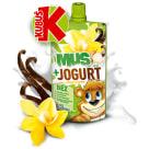 KUBUŚ Mus + Jogurt jabłko banan 80g