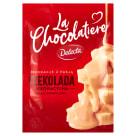 DELECTA La Chocolatiere Czekolada dekoracyjna biała karmelowa 100g