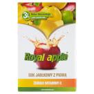 ROYAL APPLE Sok jabłkowy z pigwą w kartonie 3l