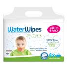 WATERWIPES Chusteczki nasączane wodą Soapberry 4x60 szt. 1szt