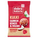 DOBRA KALORIA Quinoa na okrągło Malina&Kokos 24g