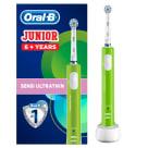 ORAL-B Junior Akumulatorowa szczoteczka elektryczna dla dzieci, 6+ lat D16 1szt