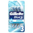 GILLETTE Blue 3 Cool Maszynki jednorazowe do golenia 3 szt. 1szt