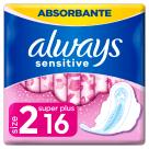 ALWAYS Ultra Sensitive Super Plus Duo Podpaski 2x8szt 1szt