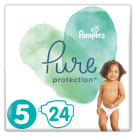 PAMPERS Pure Protection Pieluchy rozmiar 5 (11+kg) 24 szt 1 szt