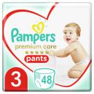PAMPERS Premium Care Pieluchomajtki Rozmiar 3 (6-11kg) 48 szt. 1szt