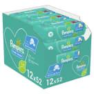 PAMPERS Fresh Clean Chusteczki nawilżane dla niemowląt 12x52szt. 1szt