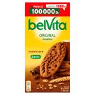 BELVITA Breakfast Ciastka zbożowe o smaku kakaowym z kawałkami czekolady 6x50g 300g