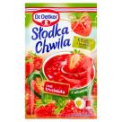 DR. OETKER Słodka Chwila Kisiel truskawkowy z kawałkami owoców 31g