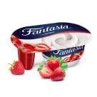 DANONE Fantasia Jogurt kremowy truskawkowy 122ml