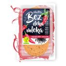 BEZ DEKA MLEKA Wegańska alternatywa sera z chili i czarnuszką, plastry 100g