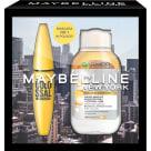 MAYBELLINE NY Zestaw kosmetyków Maskara + Płyn micelarny olejkowy 1szt