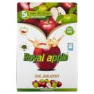 ROYAL APPLE Sok jabłkowy w kartonie tłoczony 5l